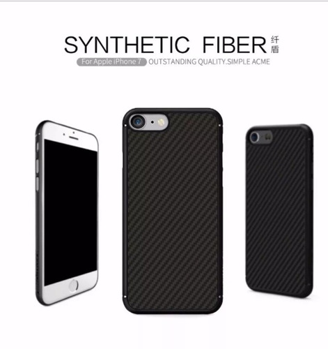 case iphone 7 fibra de carbono