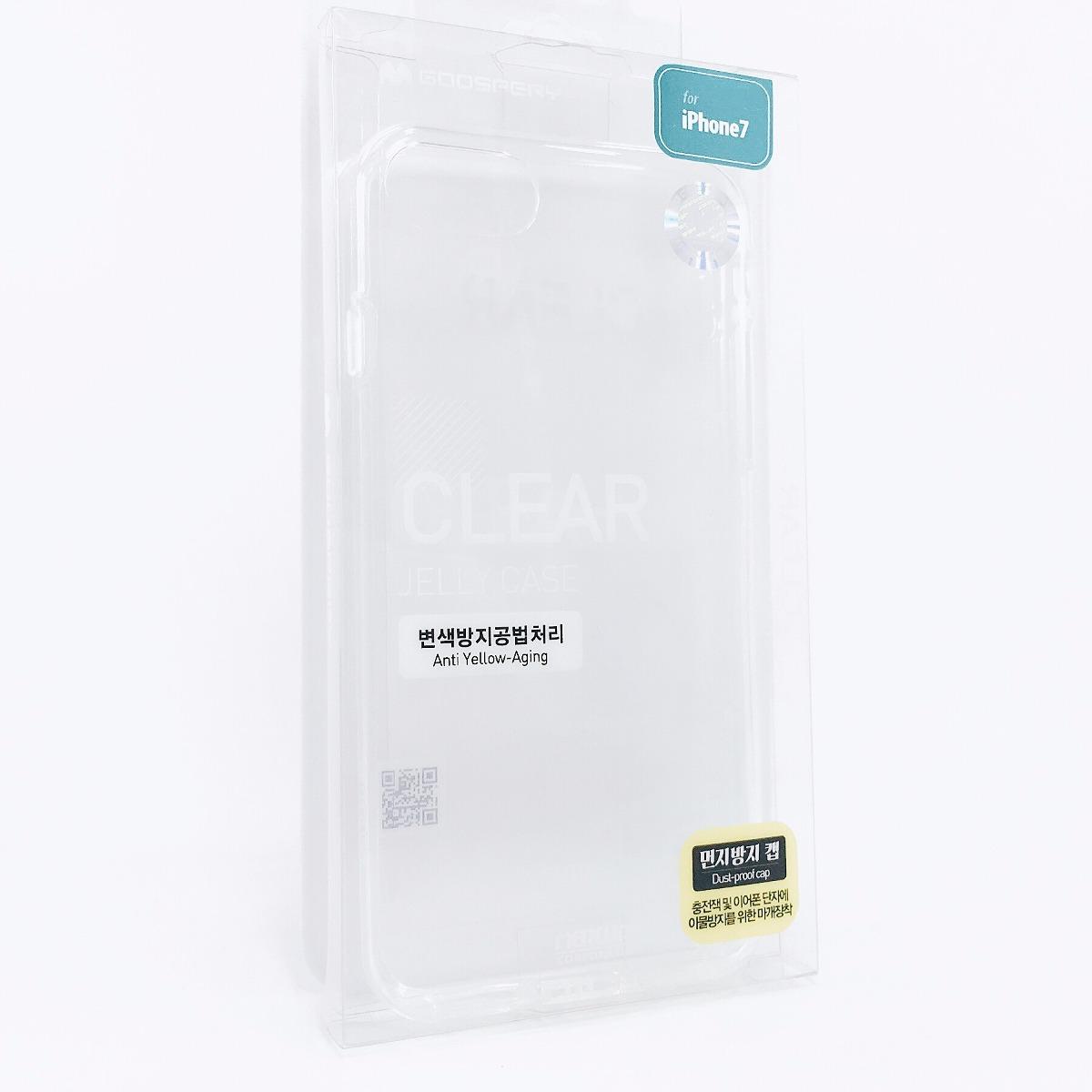 Funda Jelly Case Iphone 7 Transparente Gel Flexible Suave