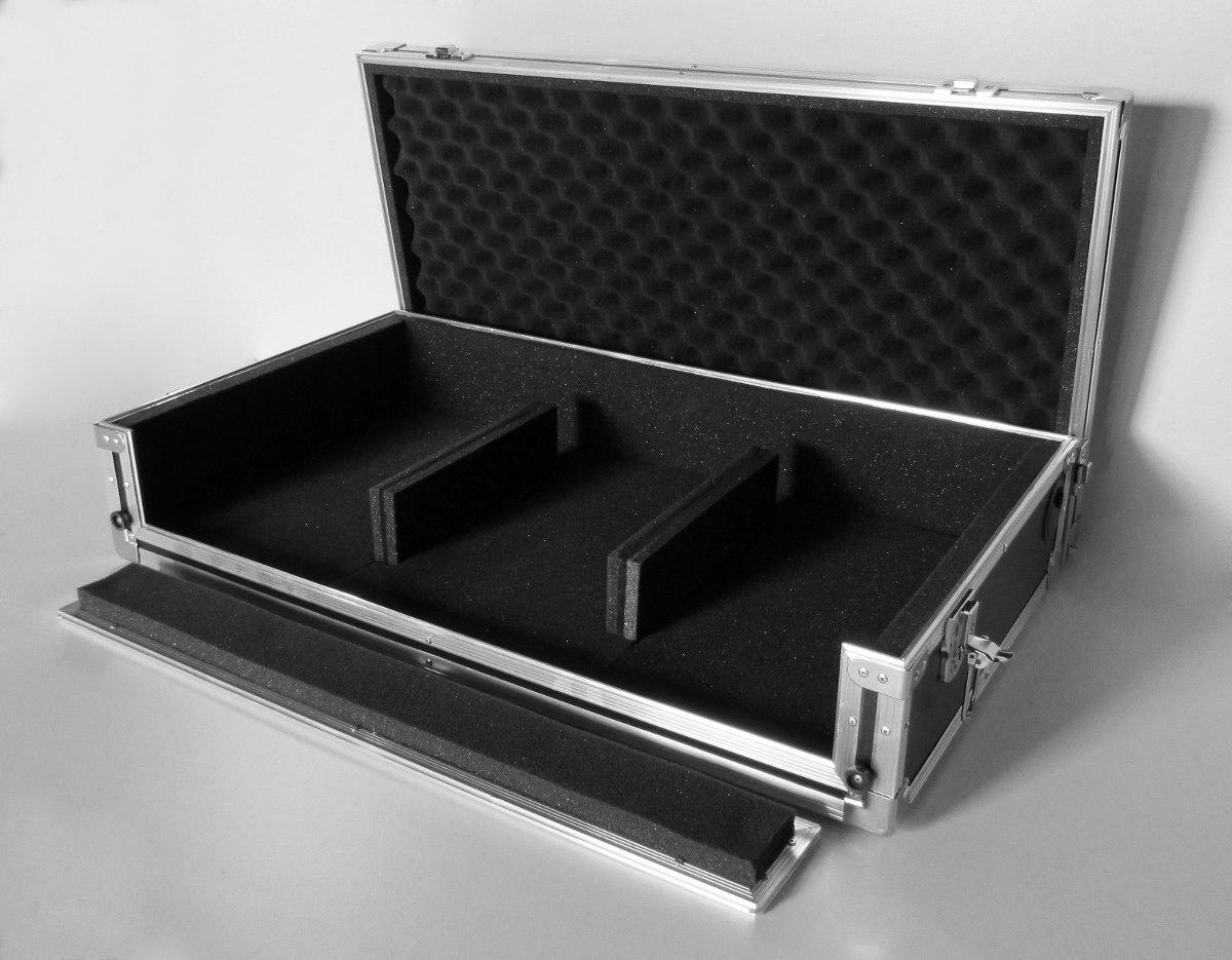 Case kit cdj e mixer 2 canais pioneer 350 400 numark for 2 case kit di storia