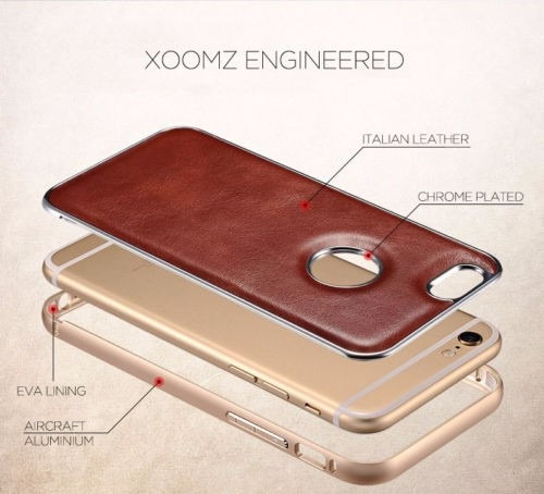 case leather icarer - xoomz - iphone 6 y 6 plus