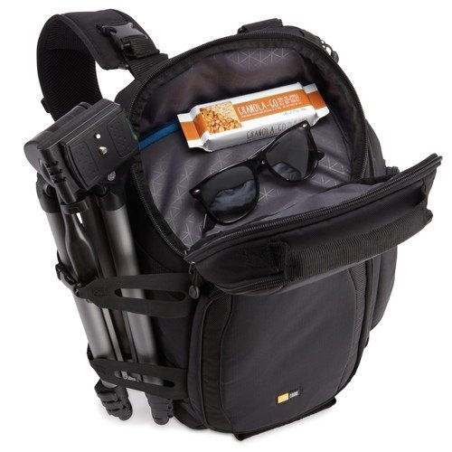 case logic dss-103 luminosity large sling backpack (negro)