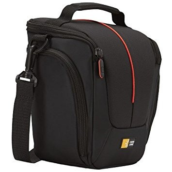 case logic, funda para cámara slr dcb-306, de color negro