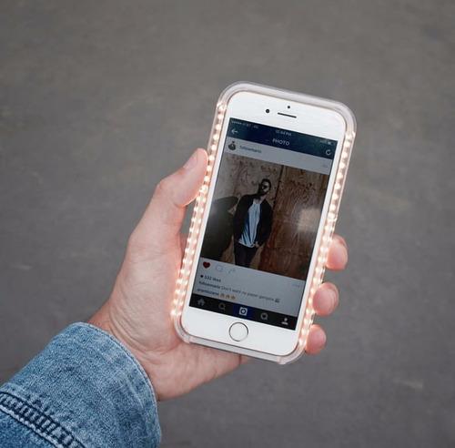 case lumee para iphone 7 plus y samsung s6 edge