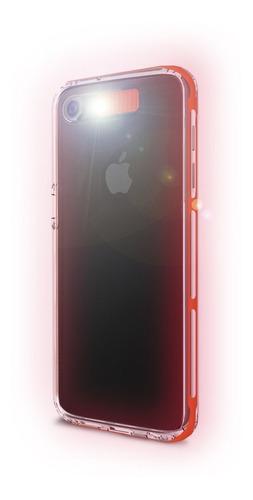 case luz led flashing iphone 7 y 7 plus brillante