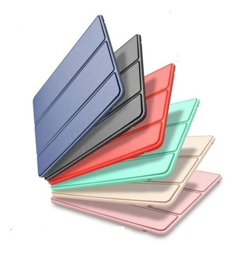 case magnética smart cover ipad mini 5 a2133 a2124 a2126