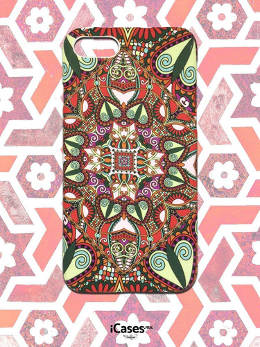 case mandala color para iphone 5,6,6+,7 y 7+ ¡envio gratis!