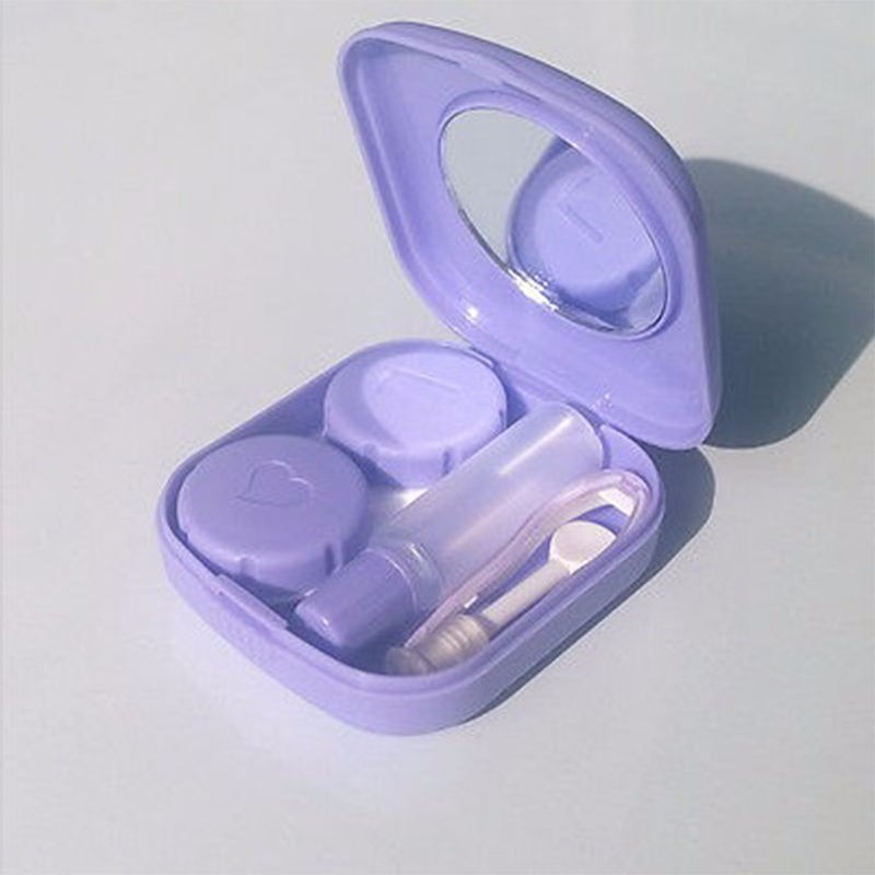 Case Mini Estojo Lentes Contato Kit Viagem - R  16,90 em Mercado Livre af121dd7bd