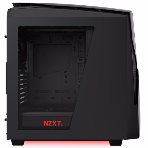 case nzxt noctis 450 mid tower chasis -ca-n450w-w1
