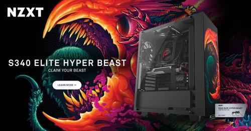 case nzxt s340 elite hyper beast  mid tower