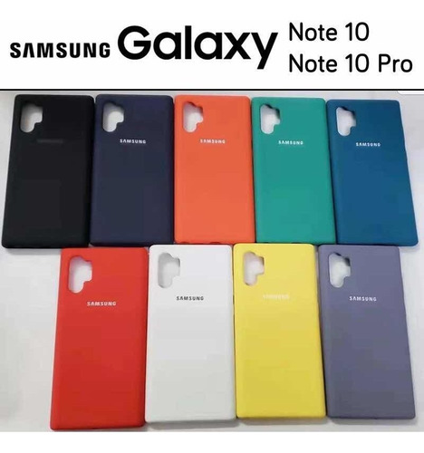 case oficial samsung note10/10+ s9+ s10/10+ note9