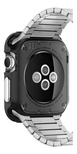 case original spigen apple watch 38mm rugged armor black
