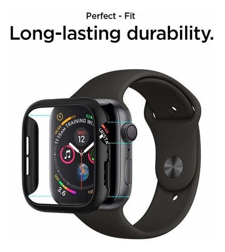 case original spigen apple watch s4 44mm thin fit black
