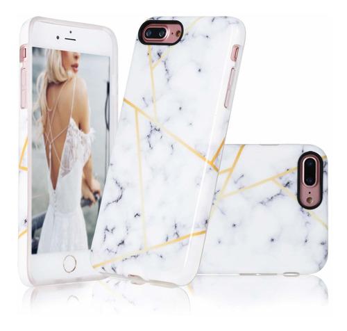 case panstarslight para iphone plus 7/8 iphone plus blanca m
