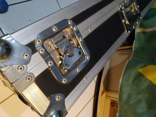 case para 02 cdj pioneer cdj 350 + nox 606 ( e similares)