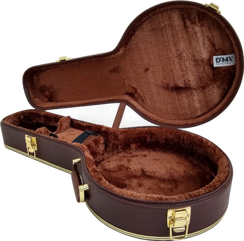 case para banjo extra luxo fama