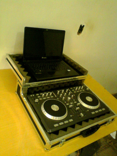 case para controladora numark mix track pro basculante !!