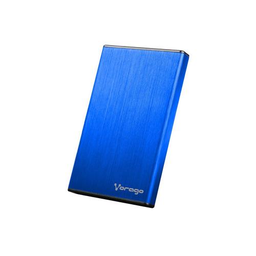 case para disco duro 2.5 hdd sata usb 3.0 vorago hdd201 azul