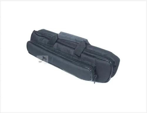 case para flauta transversal nylon resistente - extra luxo