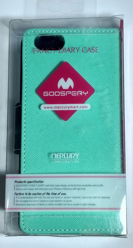 case para galaxy 6 s6 fancy diary goospery original oferta