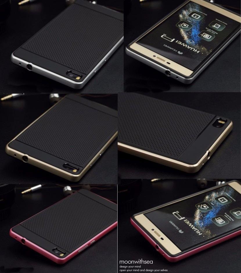 detailed look d1110 3de2f Case Para Huawei P8 5.2 + Mica Vidrio + Stylus