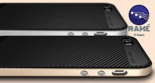 case para iphone 5 y 6 antigolpes, rigido. case shockproof