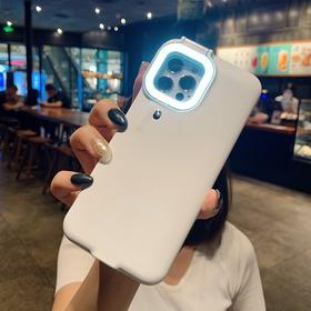 Case Para iPhone Com Anel De Luz Flash Led Selfie