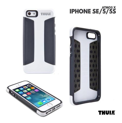 case para iphone se 5 5satmos x3 thule branco e preto