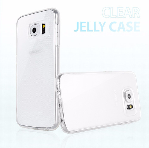 case para lg g4 stylus original 100% jelly clear- goospery