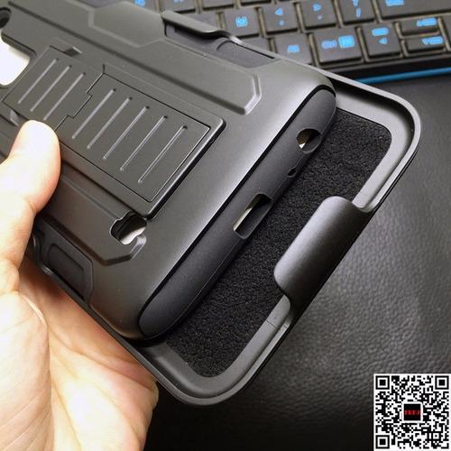 case para lg stylus 2 plus antigolpes robot c/ parante