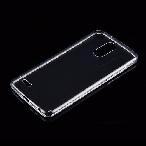 case para lg  stylus3 plus 100% transparente