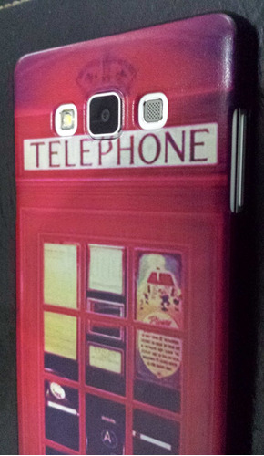 case para samsung galaxy a7 cabine de telephone ingles