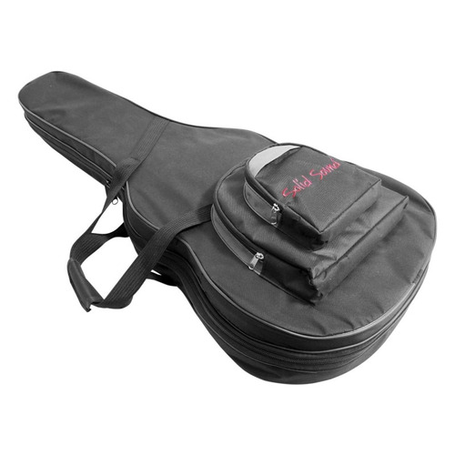 case para violão folk solid sound hard bag estojo capa