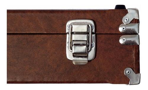 case pedal board para pedais pedaleira zoom boss 60x33x10 sp