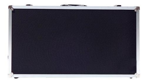 case pedal board pedais pedaleiras - 50x30x15cm. externos