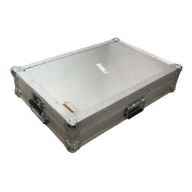 Case Pioneer Xdj-rr Aluminio Com Rodas Embutidas Xdjrr