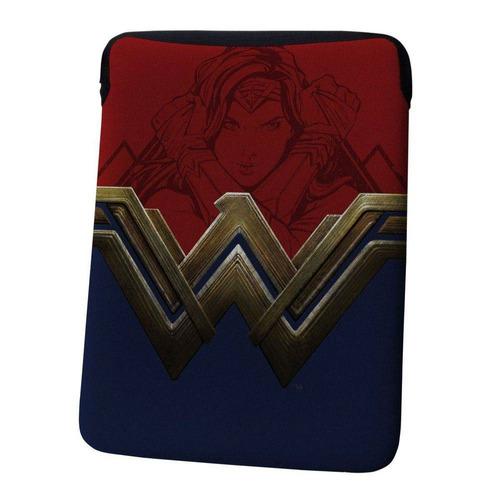 case porta laptop - 30 cm - dc comics - wonder woman - urban
