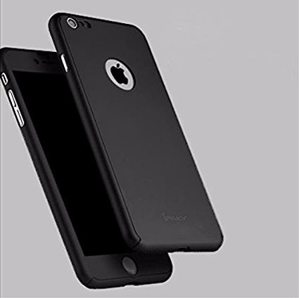 case protector 360° ipaky original+vidrio p/ iphone 7 y plus