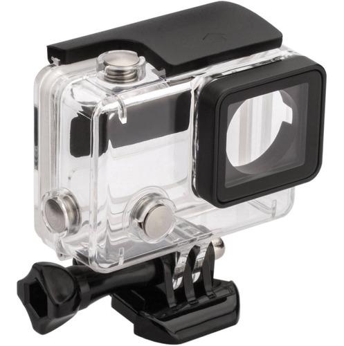 case protector acuático p/cámara gopro hero 4/3+