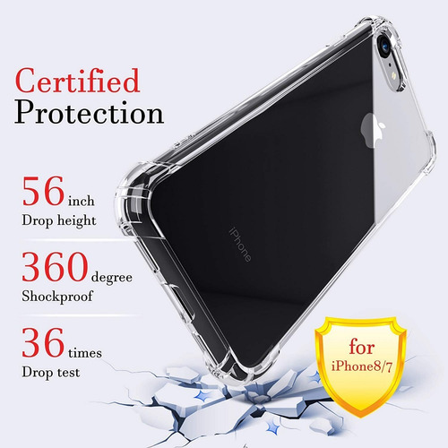 case protector anti-shock iphone 6 7/8 7/8 plus x xs xr xmax