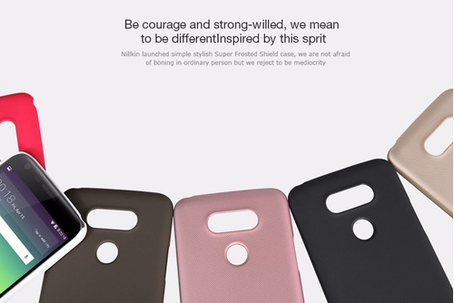 case protector carcasa nillkin: super frosted lg g5