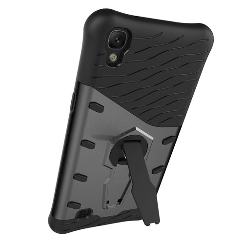case protector funda cover dual layer parante lg x power