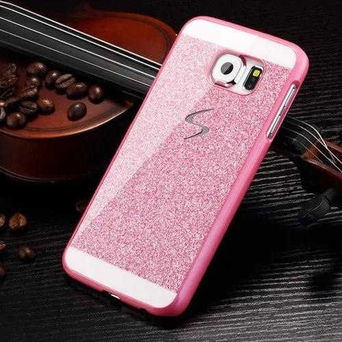 case protector funda escarchado brillante samsung s6 edge