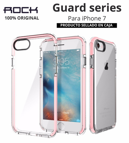 case protector funda silicona rock guard original iphone 7
