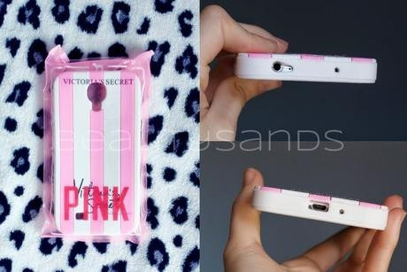 case protector funda victoria's secret para samsung s4 mini