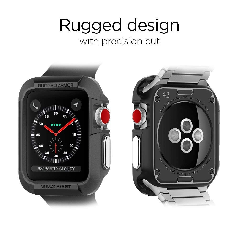 hot sales 1886c 8a977 Case Protector Spigen Para Apple Watch Series 1 2 3 42mm
