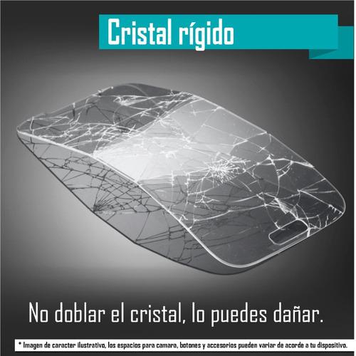 case protector tpu humo transparente + cristal nokia 6