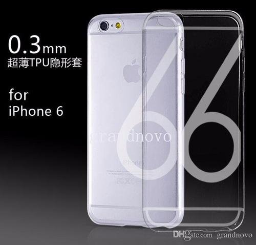 case protector tpu ultra delgado iphone 6 / 6 plus exclusivo