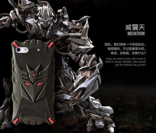case protector transformers megatron para iphone 5 / 5s / se