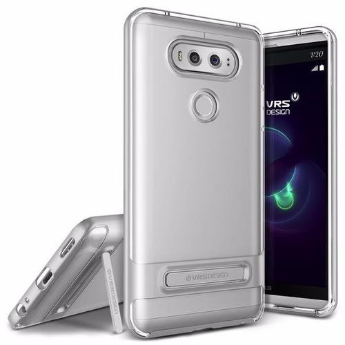 case protector vrs design crystal bumper - lg v20