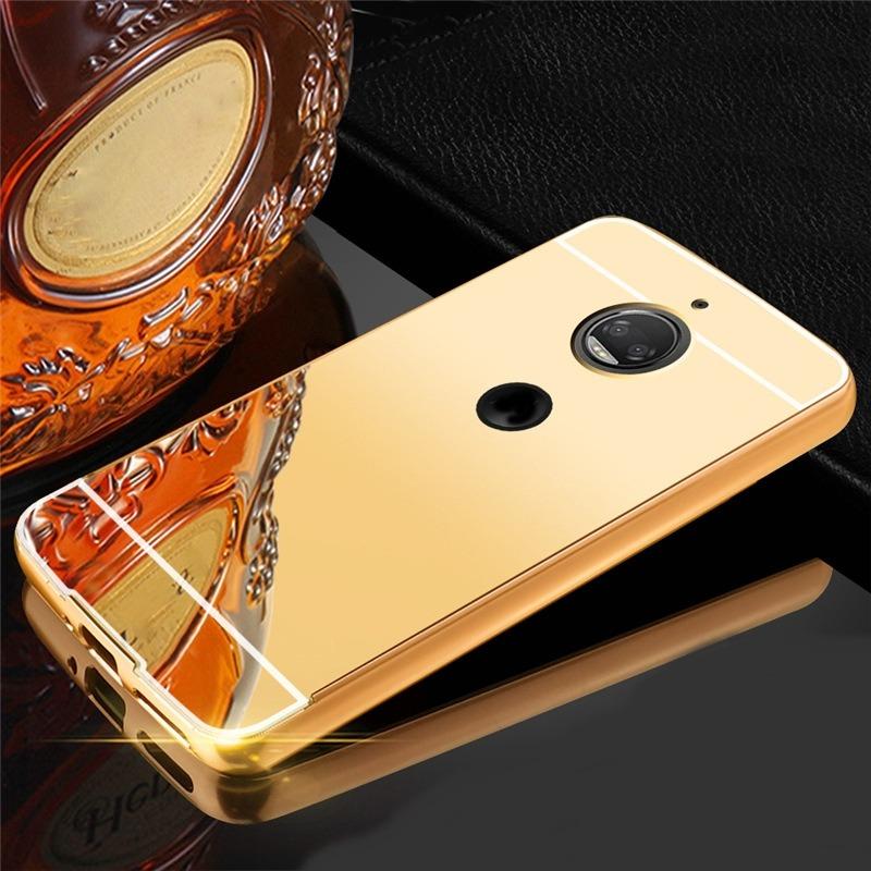 new arrival 2dc41 f2813 Case Protetora Espelhado Motorola Moto G 5s Plus + Pl/vidro